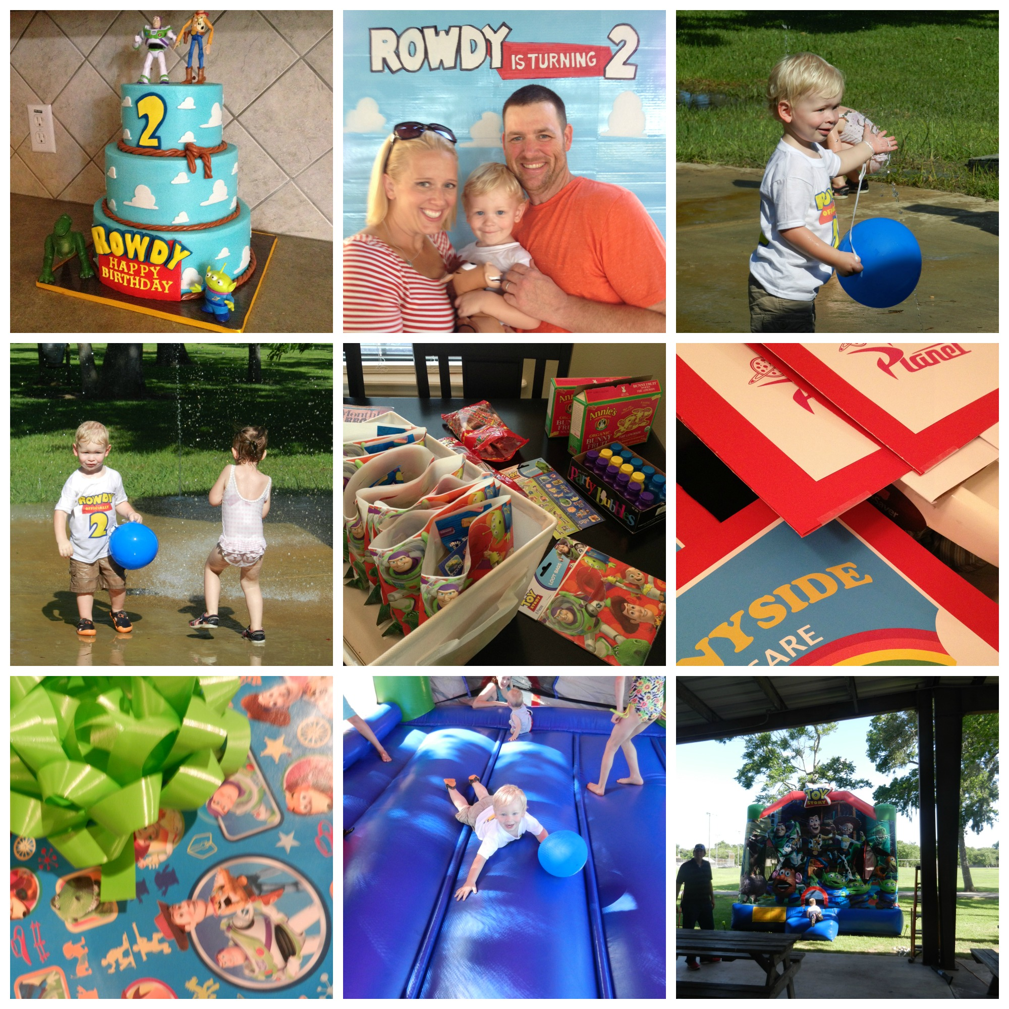 Rowdy Turns 2 With A Toy Story Birthday Party Kind Kiddo