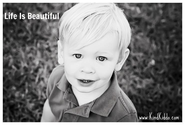 Life Is Beautiful Kind Kiddo