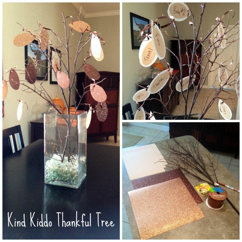 Kind Kiddo Thankful Tree 2013