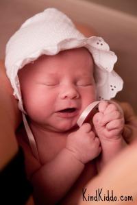 KK Romy newborn pic