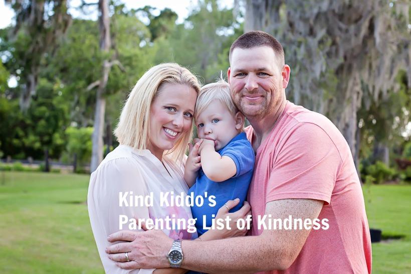 parenting list of kindness