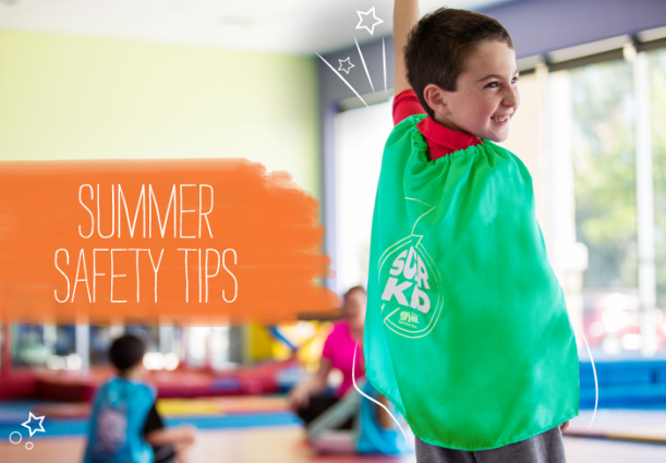 The Little Gym summer safety